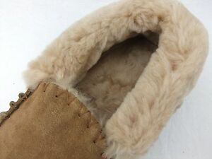 pelle con stivale pelli uomo Mocassini da di e di agnello di pecora australiana 5RqvXqW
