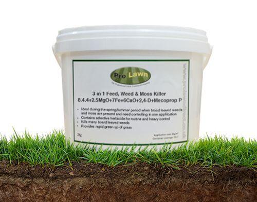 Professional Sporstmaster Cleanrun Pro Turf Fertiliser Feed /& Weed  25Kg