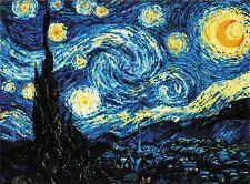 RIOLIS  1088  La nuit étoilée  Kit  broderie  Point de Croix  Compté