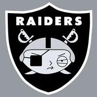 Oakland Raiders Stewie Vinyl Decal Logo Wall Sticker Car 12