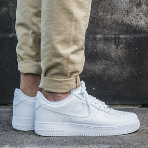 nike air force 1 uomo basse bianche