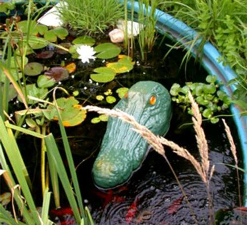 BIRD X Gator Guard Pond Lake Floating Alligator Head Geese Repeller Repellent