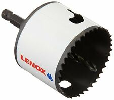 """LENOX Tools Bi-Metal Speed Slot Arbored Hole Saw with T3, 2-1/2""""-64MM"""