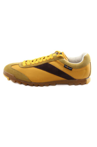 scamosciata Energie Zucca e Sneakers in Boyd vintage Fieno pelle w7gxqxPIF