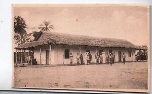 Carte-postale-CONGO-BELGE-La-Maison-des-Soeurs-Nsona-Mbata-Filles-de-la-Charite