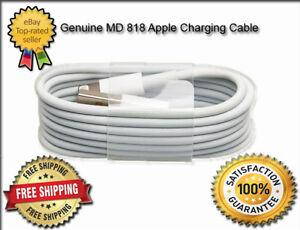 Detalles de Apple iPhone 8 Plus Cargador USB Cable Lightning Plomo Genuino carga rápida ver título original