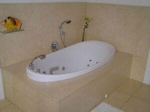 Einbau whirlpool badewanne florida wm acryl wassermassage inkl armaturen ebay - Einbau whirlpool ...