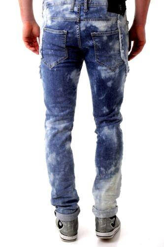 Jeans Slim Alan Steve Zip Bray Slim Hommes L Lavé Avec Pocket Xwt5f