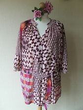SALE - JASPER CONRAN BLOUSE TUNIC SIZE 16 FABULOUS SMOCKING DETAIL GORGEOUS