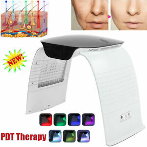 7Color LED Photon Skin Rejuvenation PDT Therapy Acne Spot Removal Facial Machine