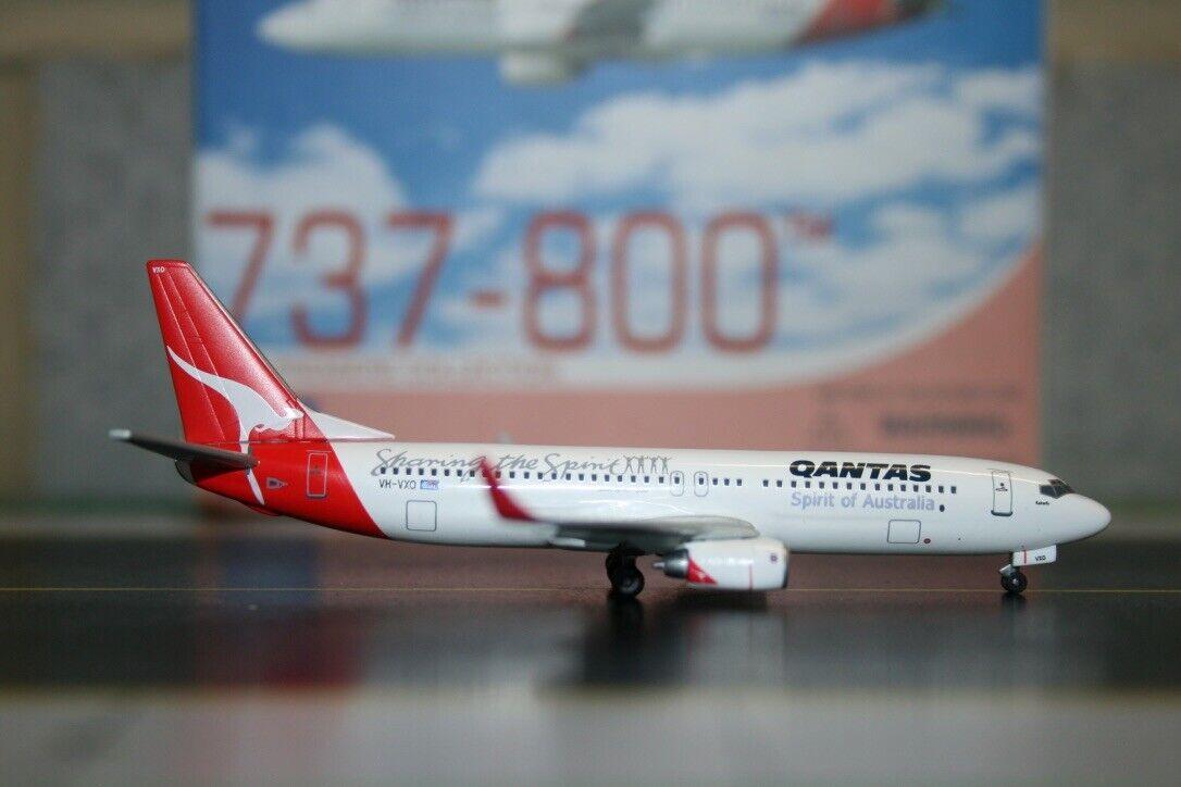 drake vinges 1 400 Qantas Boeing 737 -800 VH -VXO (55578) Die -Cast modellllerlerl plan