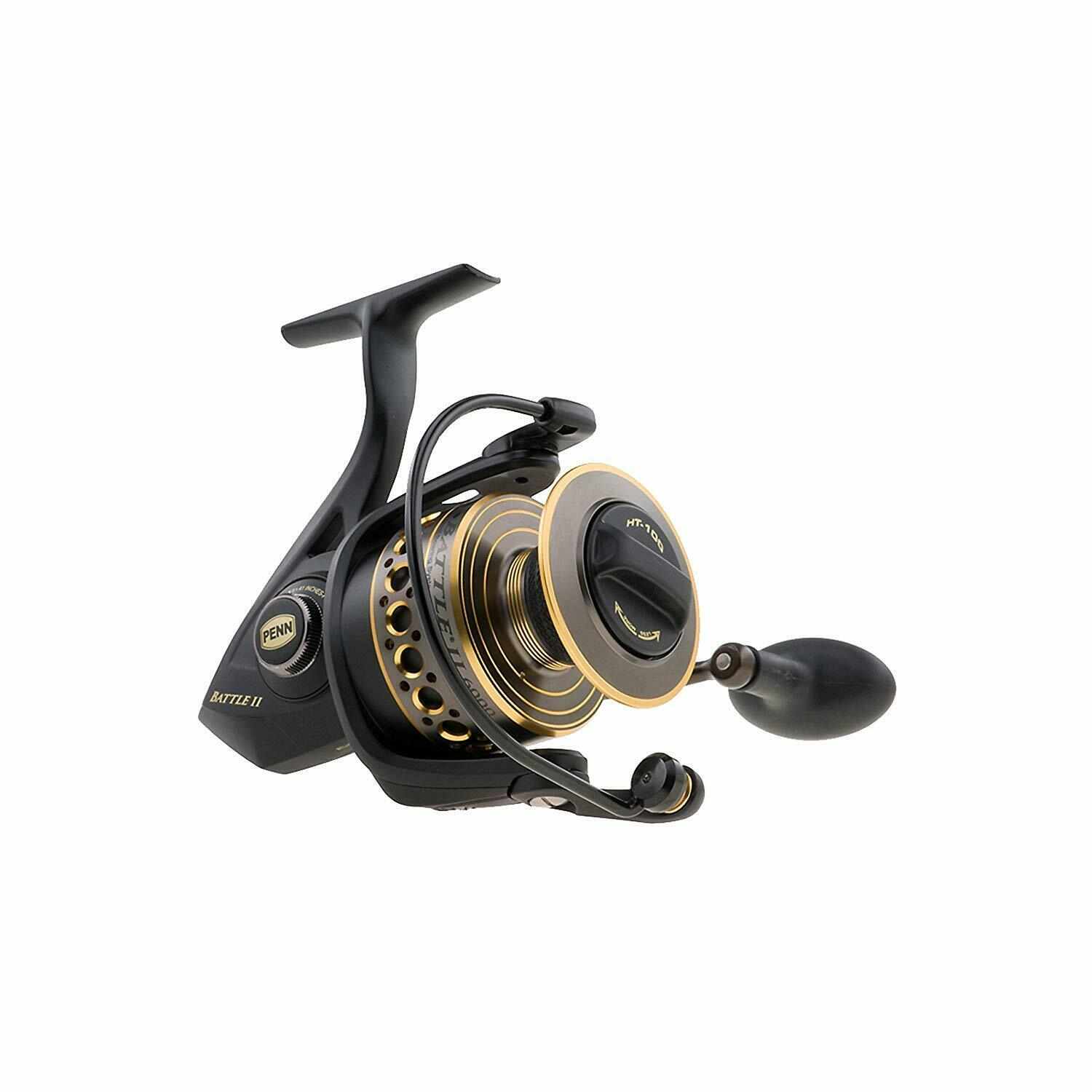 Penn Spinning Reel BTLII8000 Battle II Tracre number nuovo