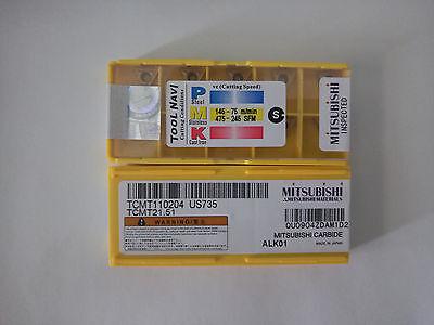 10pcs Mitsubishi TCMT21.51 TCMT110204 US735 New Free shipping