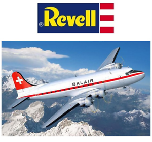 Revell 04947 DC-4 Balair Iceland Airways Civilian Aircraft 1 72 Scale Kit