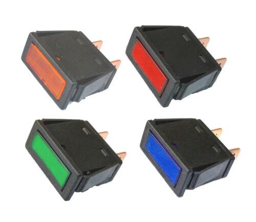 Signalleuchte LED 12V grün gelb rot Signallampe Anzeigeleuchte Einbauwarnlampe