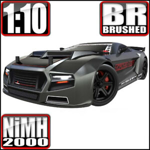 Redcat Racing Thunder Drift 1/10 Scale Belt Drive On Road RC Car Gun Metal NEW