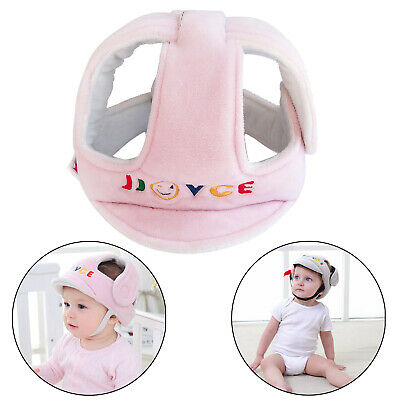 Infant Anti-Fall Anti-Collision Head Protection Hats for Children from 6 Months~6 Years Old Pink Candy Adjustable Size Baby Learn to Walk Or Run Soft Safety Helmet Baby Toddler Protective Cap