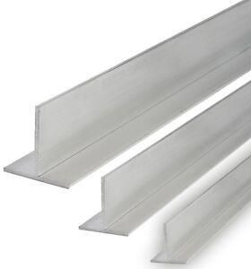 aluminium t profil rail alu t profil barre walzblank t66 alu ebay. Black Bedroom Furniture Sets. Home Design Ideas