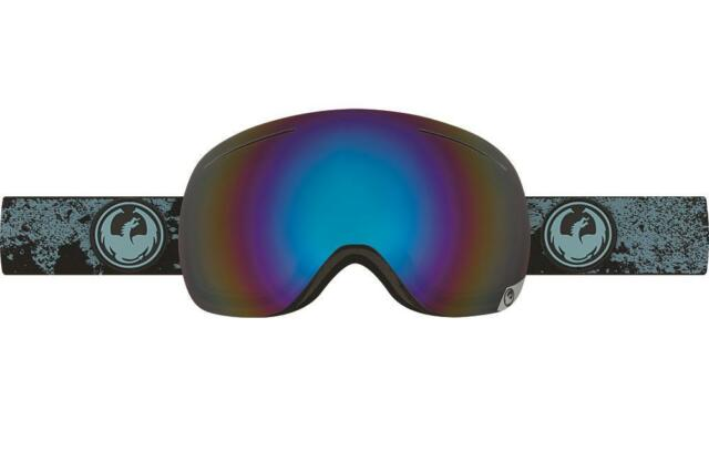 Dragon X1 Frameless Snow Goggles Mason Blue - Flash Blue Polarised Lens