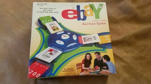 Ebay Auction Board Game Electronic 40144 Talking Hasbro 2001 For Sale Online Ebay