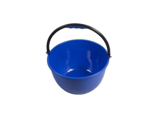 15 L Plastic Round Dishwasher Bucket for Washing Up in Caravane Tent Camping