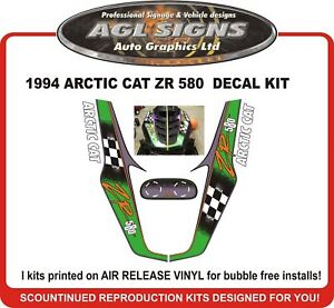1994-ARCTIC-CAT-ZR-580-Reproduction-Decal-Kit-graphic-stickers
