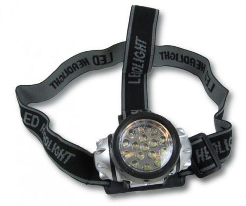 Lampada FRONTALE LAMPADA TESTA LED Krypton FARI LAMPADA neu2925