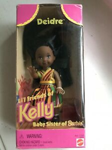 Deidre-Lil-Friends-of-Kelly-Baby-Sister-of-Barbie-Doll-African-Dress-NRFB