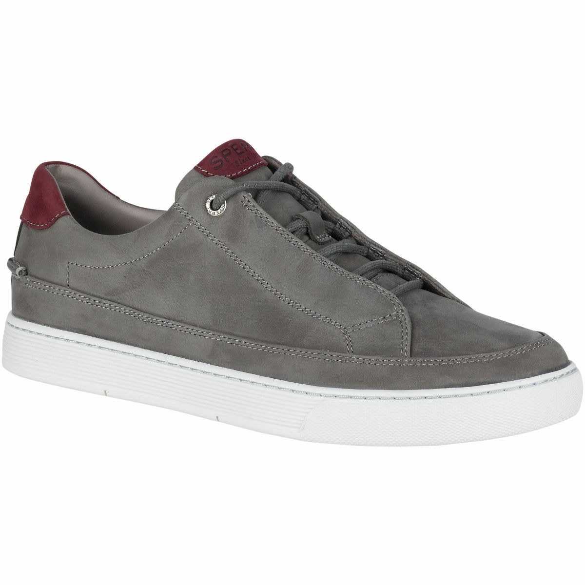 Men's Sperry Top-Sider gold CUP Milbridge Leather Sneaker, STS17488 M Sizes Grey