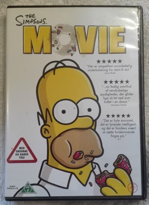 The Simpsons Movie, DVD, komedie
