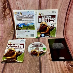 Nintendo-Wii-Game-All-Round-Hunter-Pal-Uk-Version-Very-Rare-Game-Complete-vgc