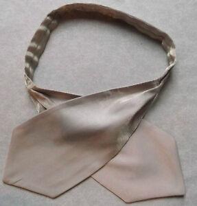 Garçons Cravate Mariage Ascot Cravate Formelle Parti Taille Unique Brillant Or Pâle-afficher Le Titre D'origine
