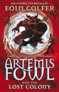 Artemis-Fowl-and-the-Lost-Colony-5-Colfer-Eoin-Very-Good-Book