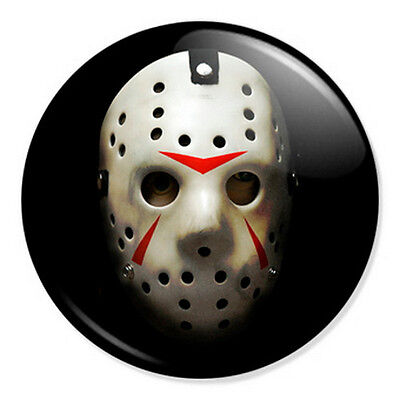 1 Inch D Pin Button Badge Friday The 13th Classic Horror Movie 25mm