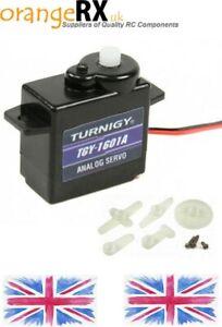 Turnigy-TGY-1601A-6-Gram-Analog-Analogue-Servo-24T-1-0kg-0-08sec-6G-orangeRX-uk