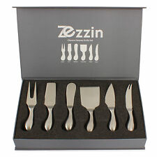 Cheese Knife Set by Zezzin 6 Knives in Presentation Box SLIGHT 2NDS BARGAIN WOW!