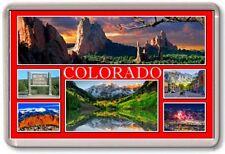 FRIDGE MAGNET - COLORADO - Large - USA America TOURIST