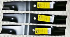 Set of 3 John Deere mower blades M135334 7 Iron Deck Z Trak M653 M655 F620 F680