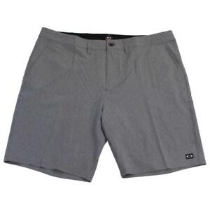 Oakley-Shooter-Shorts-Mens-Size-40-Heather-Light-Grey-Short-Casual-Boardshorts