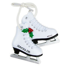 Personalized Christmas Ornament Figure Skates,Ice Sports, Coach, Olympics Gift