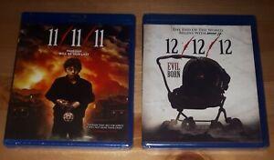 11-11-11-amp-12-12-12-Blu-ray-2-Movies-Brand-NEW-Horror-Films