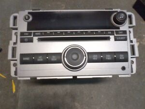 Details about 07 08 09 CHEVY EQUINOX AM/FM RADIO CD STEREO AUDIO PLAYER  UNLOCKED P/N 25994581