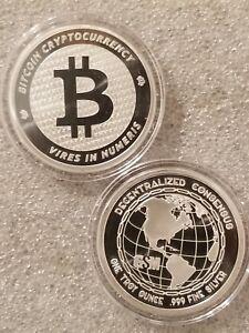 moneta commemorativa bitcoin