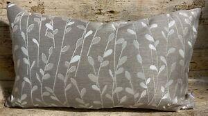 51cm-x-30cm-John-Lewis-Annabelle-Leaf-Beige-Brown-Handmade-Cushion-Cover-EOKsews