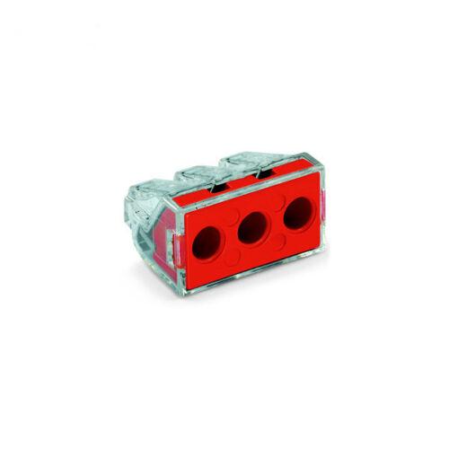 WAGO 773-173 3-Way push wire connecteur 41A-pack de 50