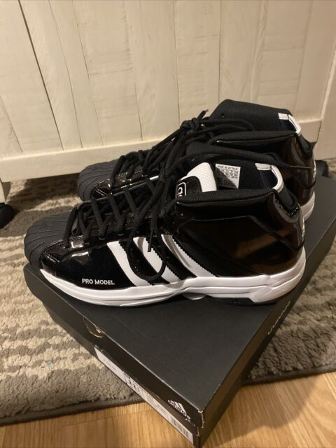 Adidas Pro Model 2G Black Patent Leather. Size: 11.5 Worn Once
