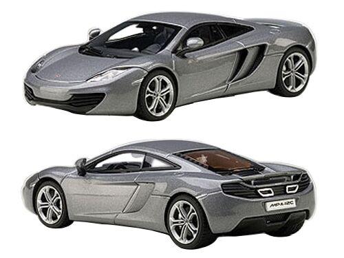 Mclaren Mclaren Mclaren Mp4-12c Hielo Plata 1 43 Diecast Car Model por Autoart 56007 15f441