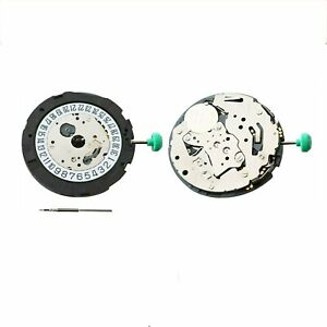 NEW-OS21-Genuine-QUARTZ-Watch-Movement-Day-at-6-039-Repair-For-Miyota-0S21