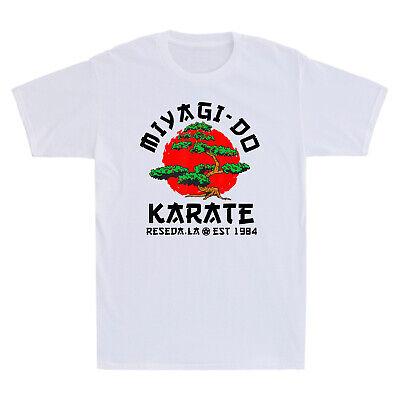 Miyagi Do Karate Funny Martial Art Tee 80/'s Movie Cobra Kai Retro Men/'s T-Shirt