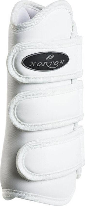 Norton PRO Dressurgamaschen Vordergamaschen white WB Full